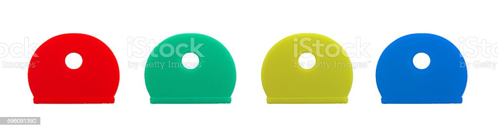 Silicone key covers isolated royalty-free stock photo