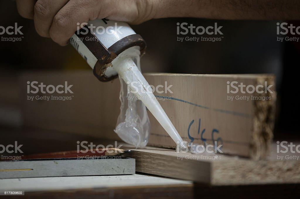 Silicone work stock photo