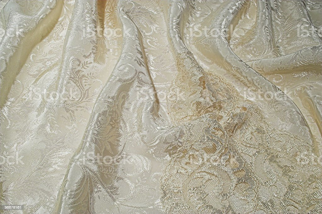 Silk and lace royalty-free stock photo