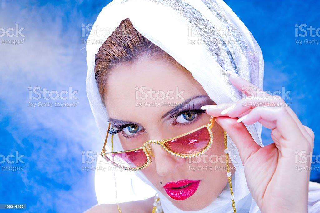 Silk beauty royalty-free stock photo