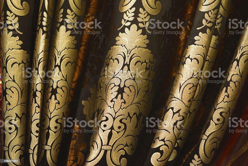 Tecido de seda - foto de acervo