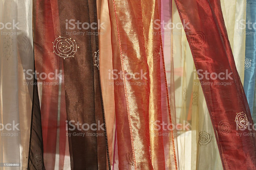 Silk from India background royalty-free stock photo