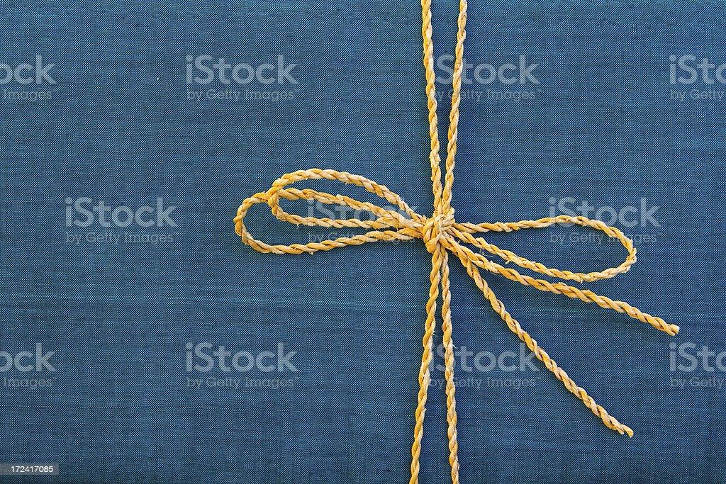 Silk Gift Box stock photo