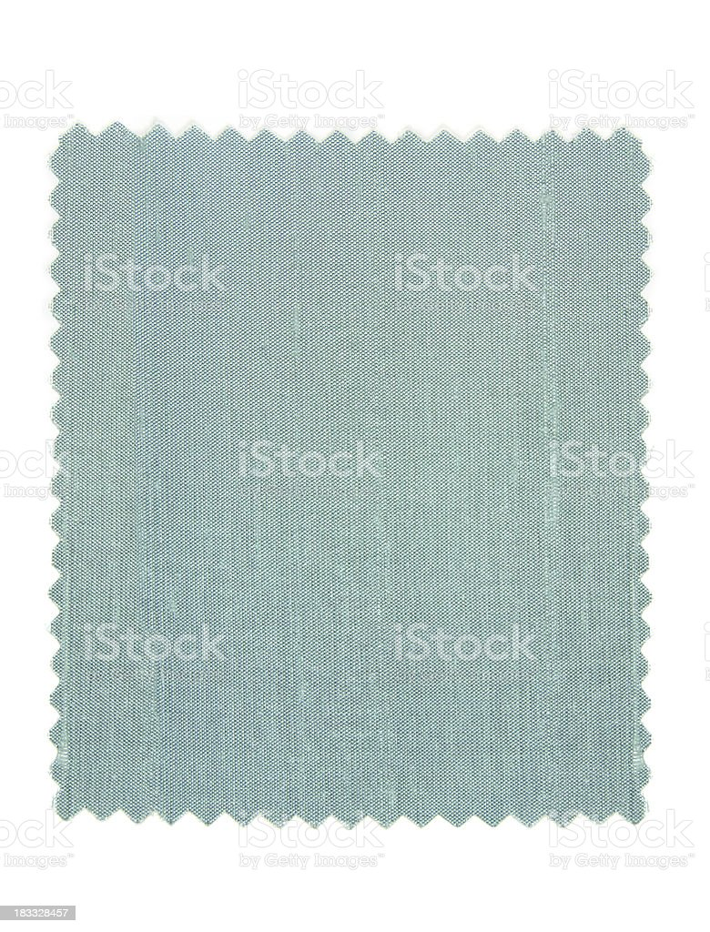 Silk Light Blue Fabric Swatch stock photo