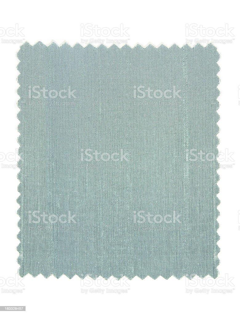 Silk Light Blue Fabric Swatch stock photo