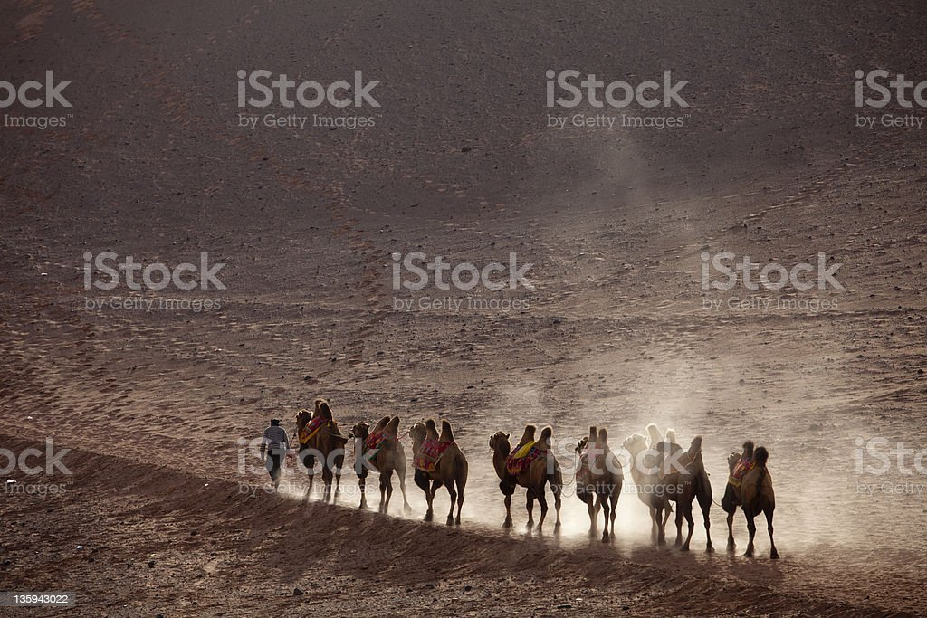 silk Road royalty-free stock photo