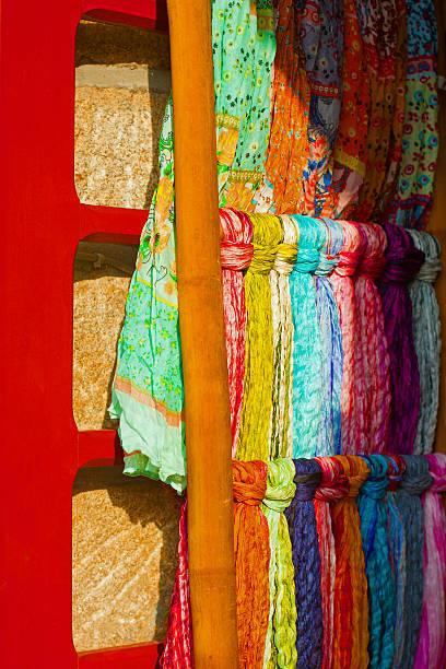 Seiden-Schals – Foto