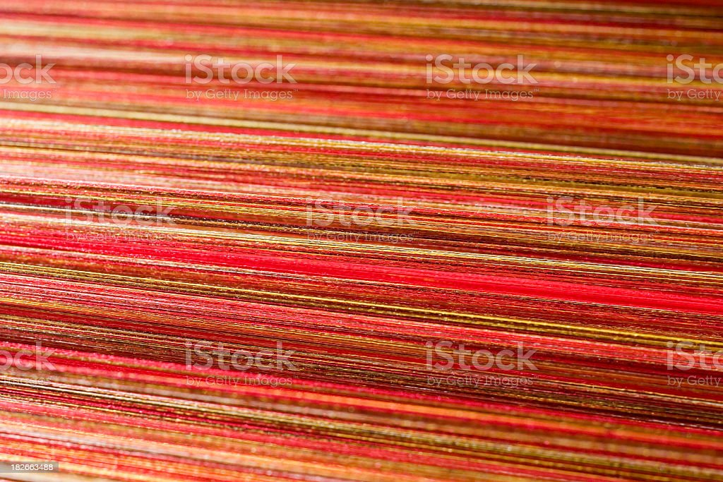 Silk threads III stock photo