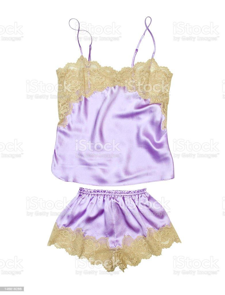 Silk underwear stock photo