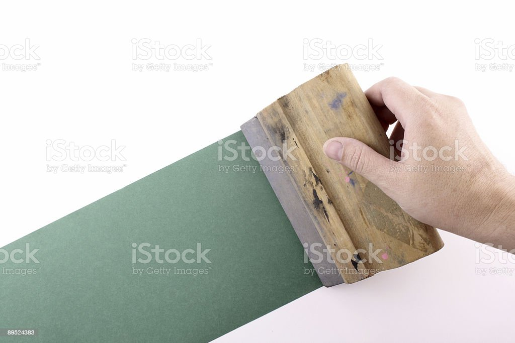 silkscreening royalty-free stock photo