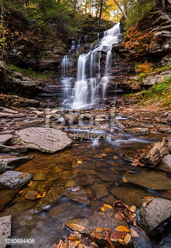 Ricketts Glen State Park,waterfall,fall colors,river,Waterfalls in the jungle,fall colors in the jungle,waterfall in the state park,waterfall and fall color,fall foliage,waterfall and fall foliage, state park, stream, current, nature, nature photography, waterfall photography, river photography