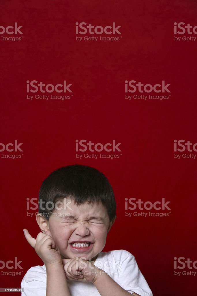 silly boy royalty-free stock photo