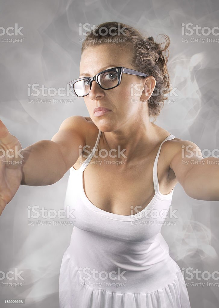 Silly Self Portrait royalty-free stock photo
