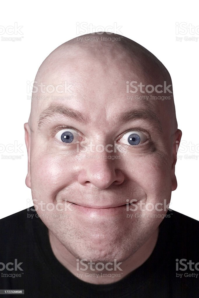 Silly Smile royalty-free stock photo