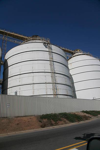 silo across road