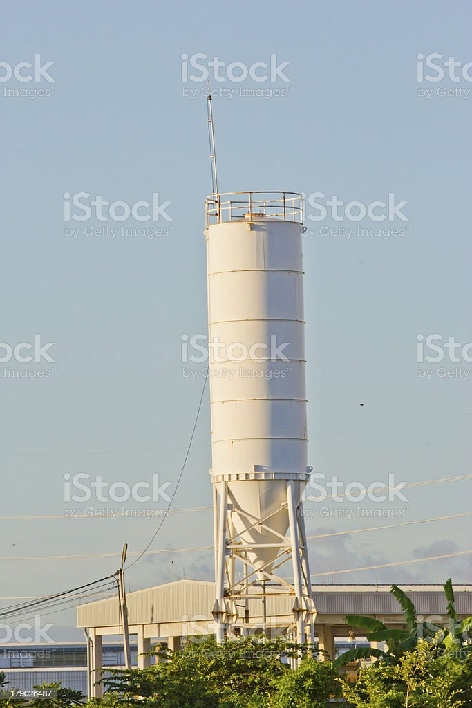 Silo at chonburi thailand royalty-free stock photo