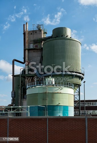 Silo of a chemical plant