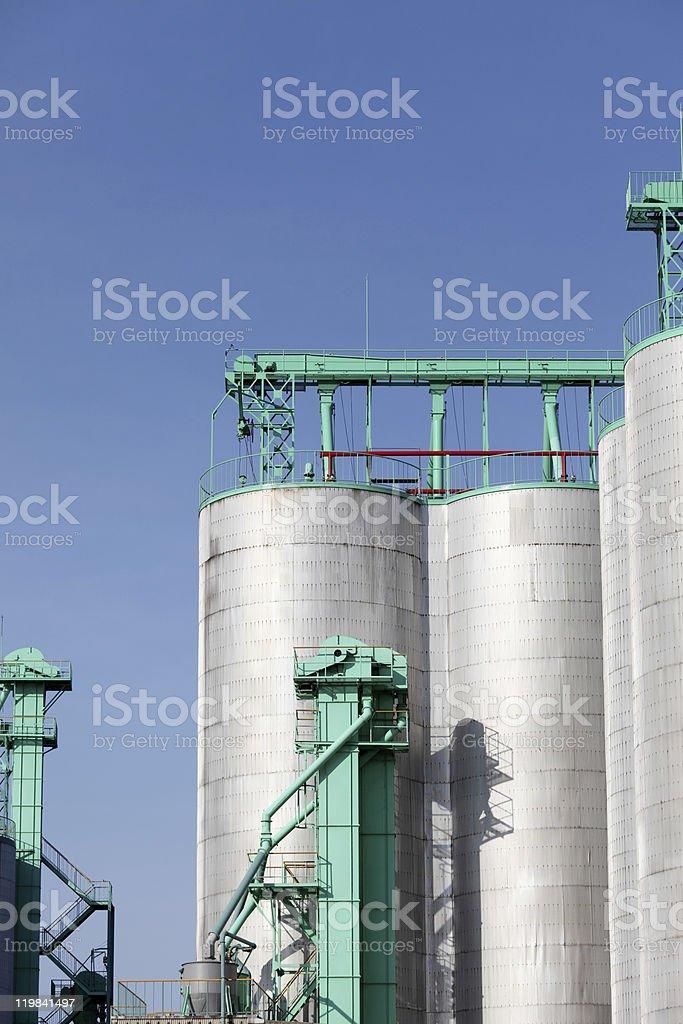 silo royalty-free stock photo