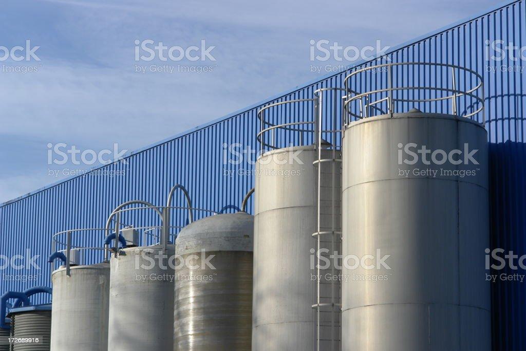 silos royalty-free stock photo