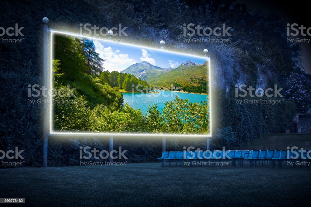 Sils lake in the Upper Engadine Valley in a summer day - Outdoor...