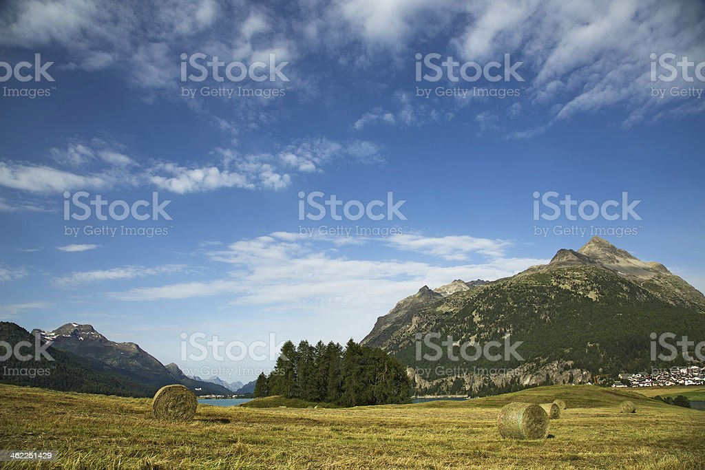 Silvaplana-Engadine-Switzerland royalty-free stock photo