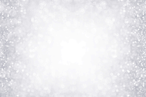 istock Silver and White Border Background for Anniversary, Birthday or Christmas 866754590