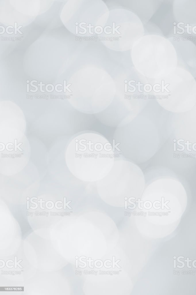 Silver and white sparkled background stock photo