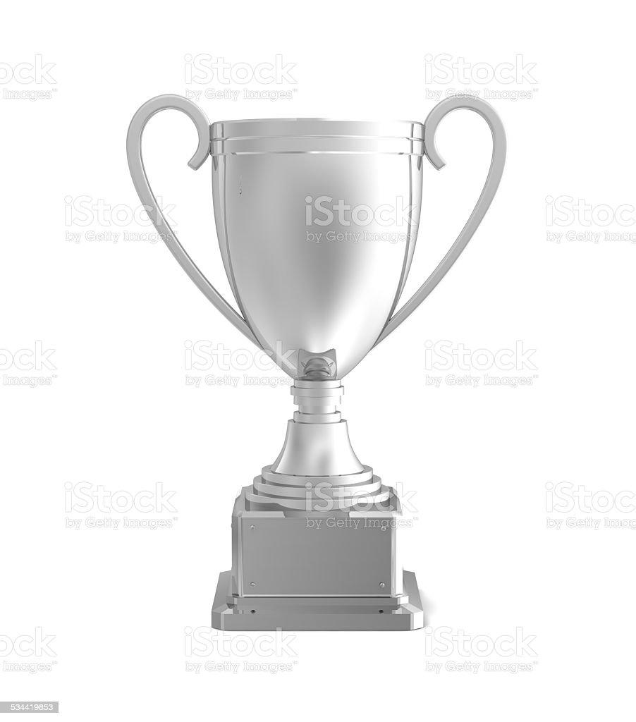 Silver award stock photo