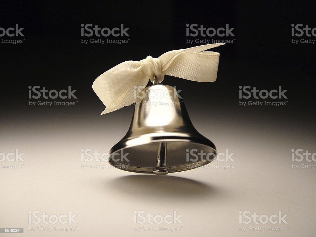 Silver Bell royalty-free stock photo