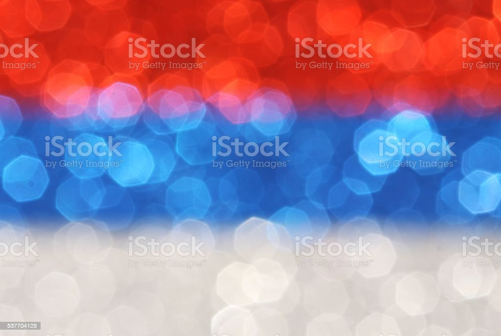 Silver, blue, red horizontal stripes abstract background stock photo