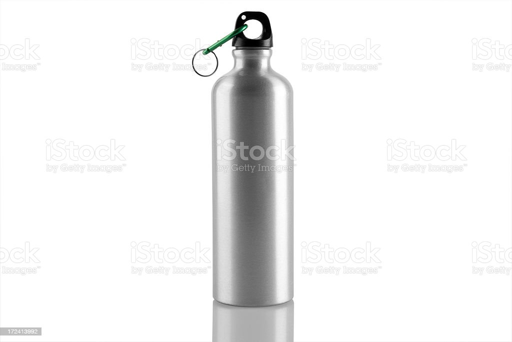 Silver Bottle stock photo
