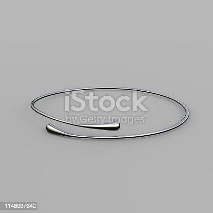 1149145638istockphoto Silver Bracelet Waterdrop design 1148037642