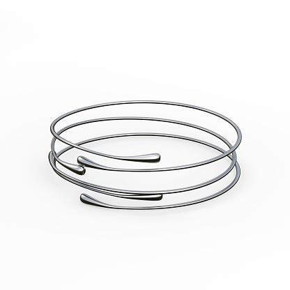 1149145638 istock photo Silver Bracelet Waterdrop design 1148039453