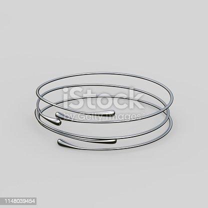 1149145638istockphoto Silver Bracelet Waterdrop design 1148039454