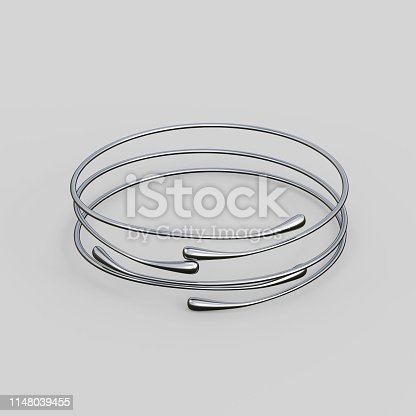 1149145638istockphoto Silver Bracelet Waterdrop design 1148039455