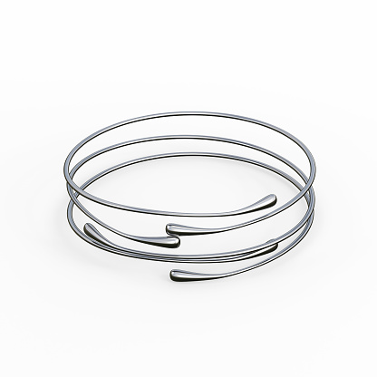 1149145638 istock photo Silver Bracelet Waterdrop design 1148039456