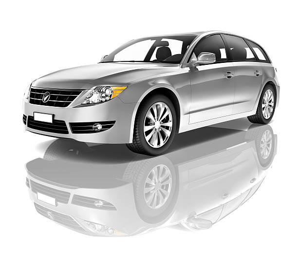 silver auto - kombi stock-fotos und bilder