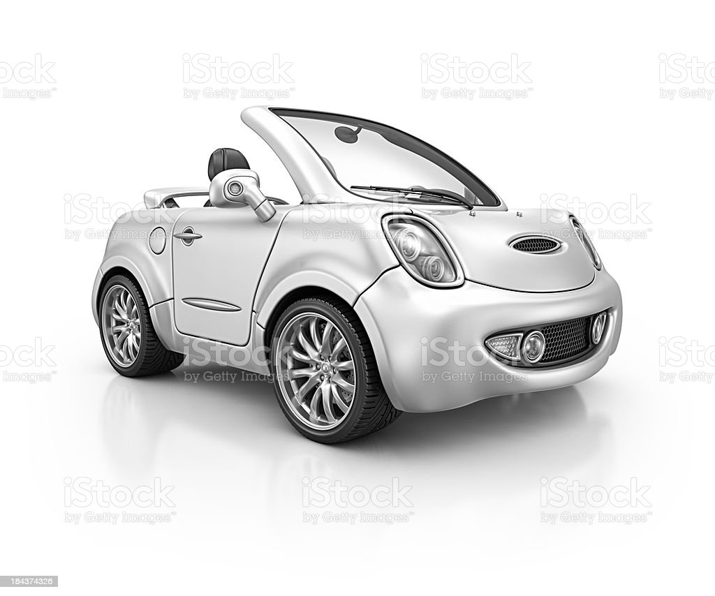 silver city car royalty-free stock photo