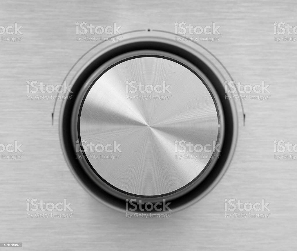 Silver Dial royalty-free stock photo