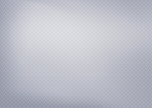 istock Silver diamond steel plate 824033720
