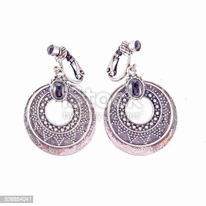 istock silver earrings 526854041