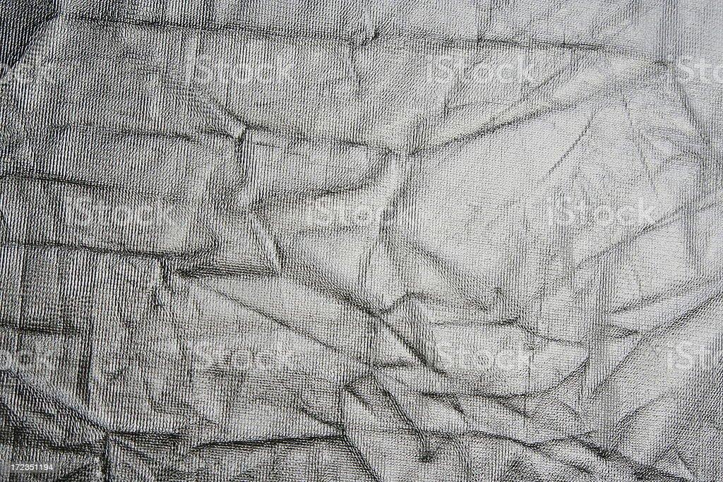 Tela de plata foto de stock libre de derechos
