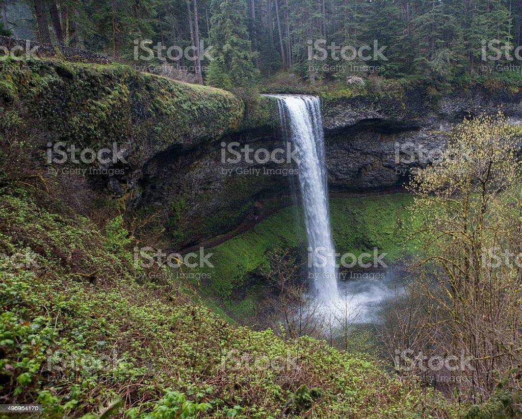 Silver Fall, Oregon stock photo