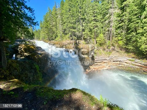 istock Silver Falls 1321710199