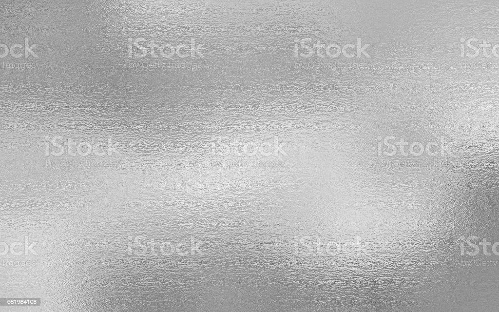 Fondo de textura decorativa hoja de plata - foto de stock