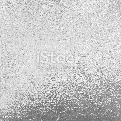 826150670istockphoto Silver foil, metallic background 1152592787