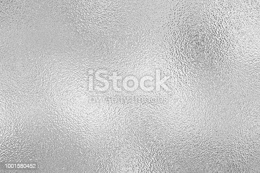 istock Silver foil texture background 1001580452