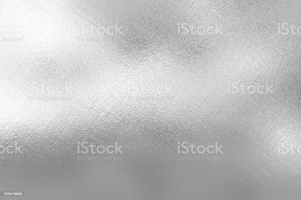 Silver foil texture background stock photo