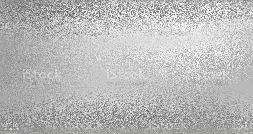 Silver foil texture background - foto stock