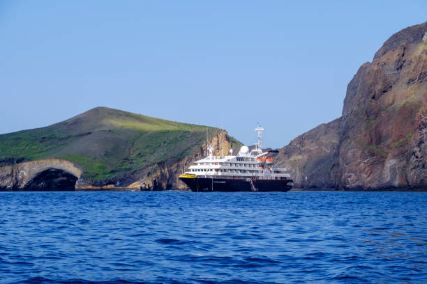 Silber Galapagos vor Anker – Foto